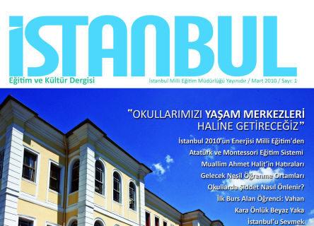İstanbul Milli Eğitim'in dergi farkı!