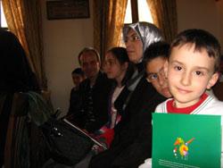 M. İdris Bursalı çocuklarla buluştu