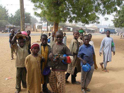 Nijerya'da da insanlar âşık oluyor, seviyor