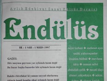 Endülüs adında bir dergi vardı hey!