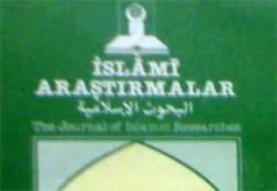 İslami Araştırmalar çığır açmıştı!