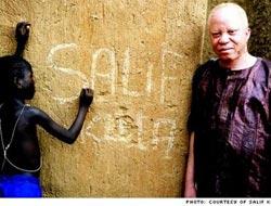 Salif Keita Portresi