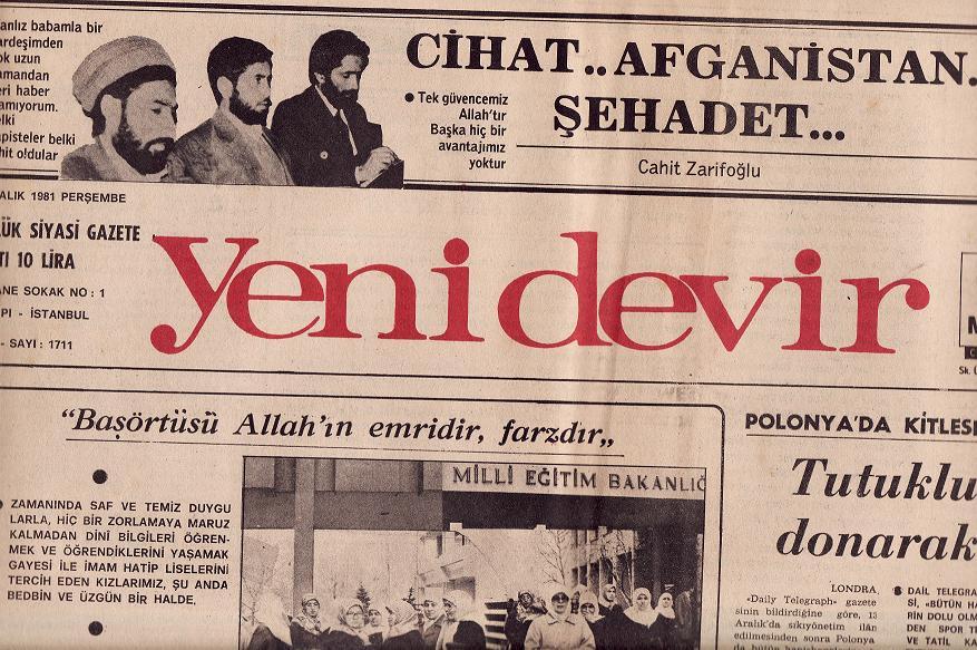 Adam gibi gazeteydi Yeni Devir!