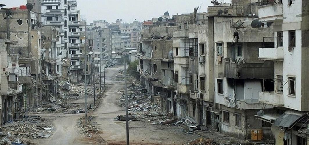 Halep'teki bu sokağı hiç unutmayalım