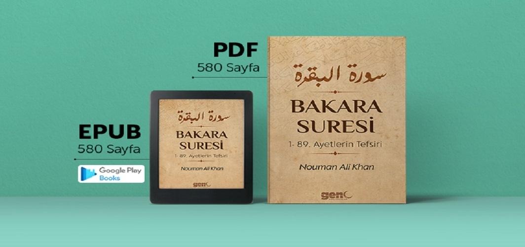 Nouman Ali Khan'dan Bakara Suresi tefsir notları