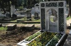 Merhum Akif Emre'nin kabri tamamlandı