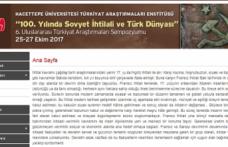 6. Uluslararası Türkiyat Araştırmaları Sempozyumu