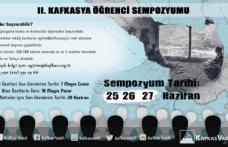 Kafkasya Öğrenci Sempozyumu'na Kayıtlar Başladı