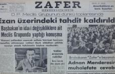 Türkiye'de Tanrı Uludur'dan Allah-u Ekber'e Giden Yol