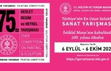 Devlet Resim ve Heykel Yarışması bu yıl İstiklal Marşı'nın kabulünün 100. yılına ithaf