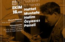 20. yüzyılın büyük Türk Hattatı Mustafa Halim Özyazıcı vefatının 57. yıldönümünde ZKS'de anılıyor