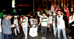 30 Mayıs 2011 Taksim Mavi Marmara yürüyüşü