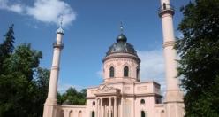 Alman sarayının camisi: Schwetzingen Camii