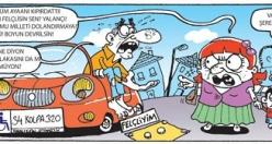 Volkan Akmeşe karikatürleri