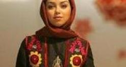 'Vatanımın Kadınları' sloganıyla; Tahran Moda Festivali.