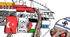 Grafik sanatçılarının gözünden Mavi Marmara saldırısı