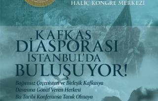 Kafkas Diasporası İstanbul'da buluşuyor
