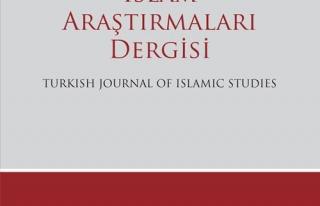 İslâm Araştırmaları dergisinin 35. sayısı çıktı