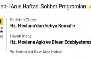 Hz. Mevlana'dan Yahya Kemal'e