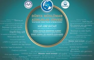Müslüman Azınlıklar Zirvesi İstanbul'da başlıyor