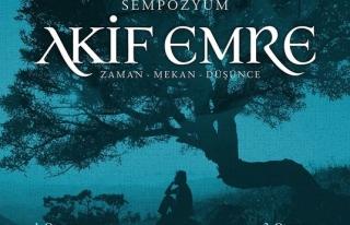 Kayseri'de Akif Emre Sempozyumu