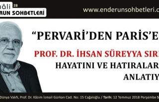 İhsan Süreyya Sırma Hayatını ve Hatıralarını...