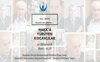 Hakk'a Yürüyen KOCAV'lılar anma programına davet