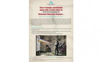 Medeniyet Okumaları'nın kapanış dersi ve katılım belgesi töreni