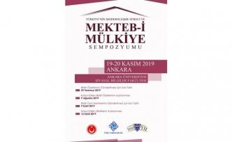 """""""Türkiye'nin Modernleşme Süreci ve Mekteb-i Mülkiye Sempozyumu"""""""