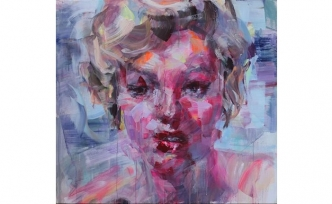 """Bahri Genç'in """"Yüz Rezonanslarıyla Dans"""" isimli resim sergisi"""