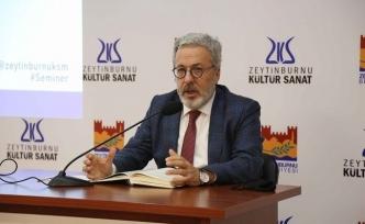 """ZKS'de Prof. Dr. Mahmud Erol Kılıç """"İrfan Dersleri"""" Seminerini Gerçekleştirdi"""