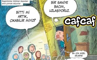 Kamuda başörtülünün hakkını soruyor Cafcaf!