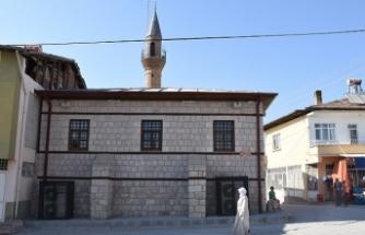 Ecdat yadigârı Toptaş Camisi yeniden ibadete açıldı