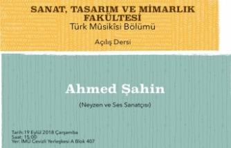Sanat, Tasarım ve Mimarlık Fakültesi Türk Musikisi Bölümünde dersler başlıyor