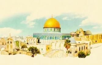 Yahudi, Hıristiyan ve Müslüman sanatlarında Kudüs imgesi