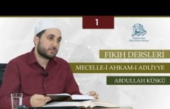Mecelle-i Ahkam-i Adliyye dersleri artık YouTube'da