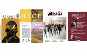 Ekim 2021 dergilerine genel bir bakış-2