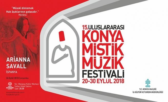 15.Uluslararası Konya Mistik Müzik Festivali
