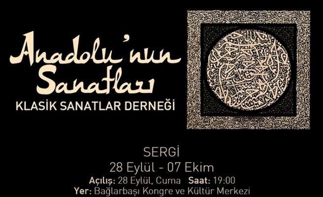 Anadolu'nun Sanatları sergisi