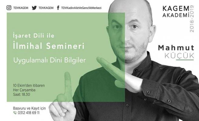 İşaret Dili seminerleri başlıyor
