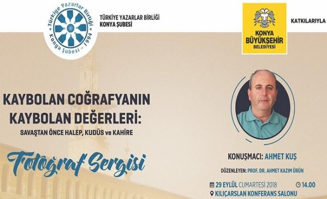 """""""Kaybolan Coğrafyanın Kaybolan Değerleri"""" fotoğraf sergisi"""