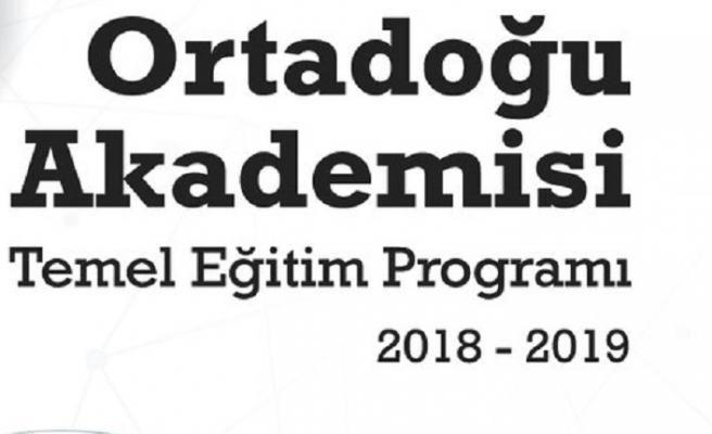 Ortadoğu Akademisi Temel Eğitim Programı