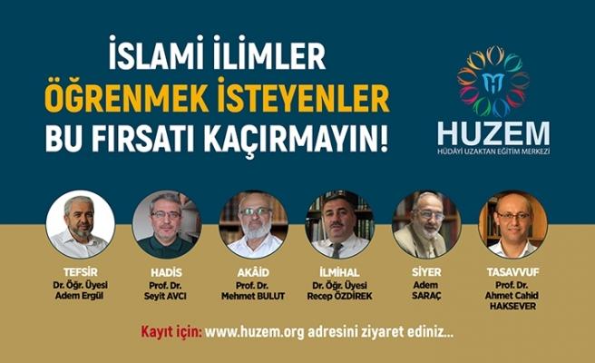 Uzaktan İslami İlimler Eğitim fırsatı