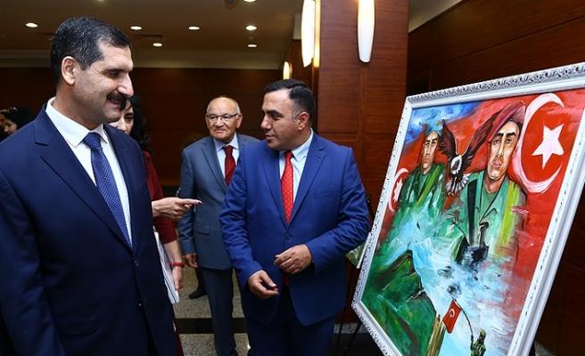 Bakü'de 'Kafkas İslam Ordusu' sergisi açıldı