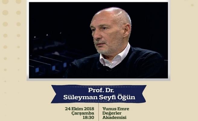 """""""Gündelik Hayatın Kültürel Yansımaları"""" seminer etkinliği"""
