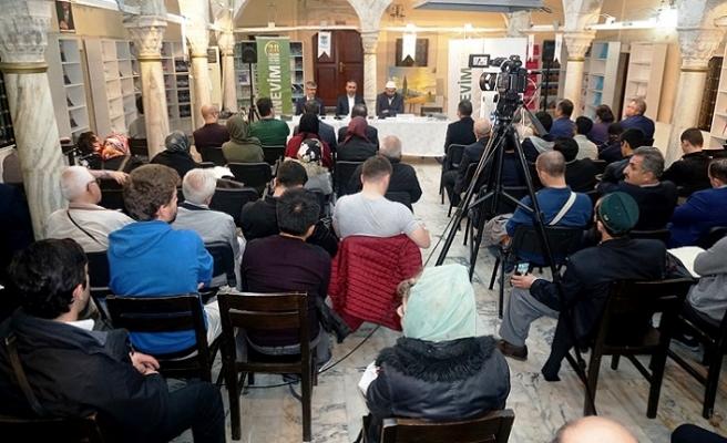 İrfan Öncüsü Ahmed İslamoğlu TYB İstanbul'da anıldı