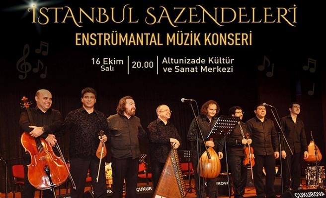 İstanbul Sazendeleri enstrümantal müzik konseri