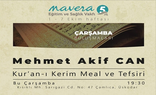 Mehmet Akif Can ile Kur'an-ı Kerim Meal ve Tefsiri