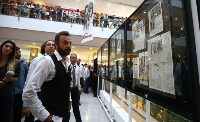 """""""Sadri Alışık ve Çolpan İlhan"""" sergisi açıldı"""