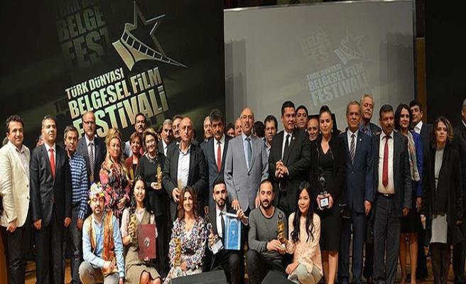 'Türk Dünyası Belgesel Film Festivali' ödülleri sahibini buldu
